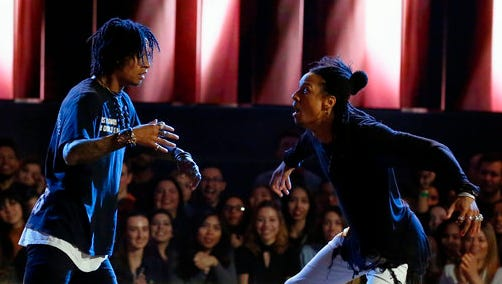 Laurent and Larry of Les Twins.