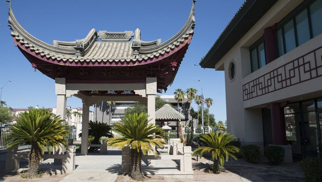 Chinese Cultural Center is shown in Phoenix on Sunday, Aug. 13, 2017.