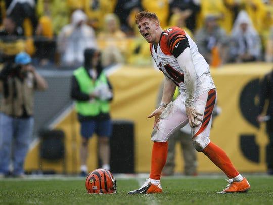 Cincinnati Bengals quarterback Andy Dalton feels the
