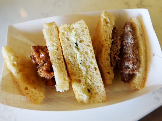 Whisk will feature gourmet breakfast biscuits called Whiskuits beginning July 31.