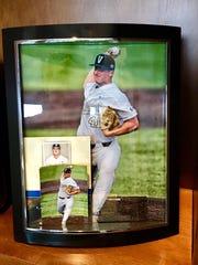 Photo of Vanderbilt pitcher Donny Everett, who died