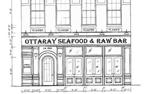 Rendering of Ottaray Seafood & Raw Bar