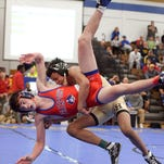 Penfield sophomore Frankie Gissendanner, a state champion last season at 138 pounds, won the 145 weight class at the 2016 Eastern States Classic.