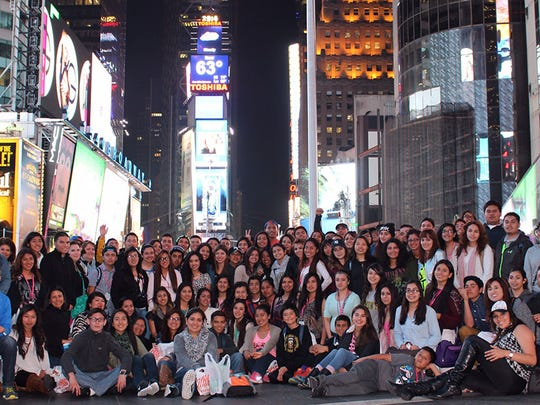 The Salinas Valley Dream Academy at Times Square.
