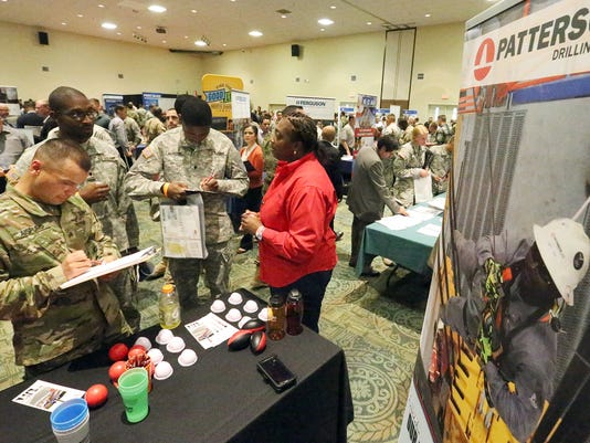 Fort Bliss-Job Fair