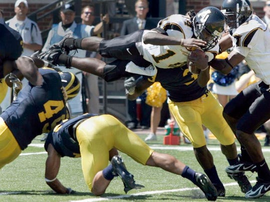 Michigan Flashback Football