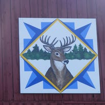 Buck family quilt is fourth barn quilt hung in Lincoln County