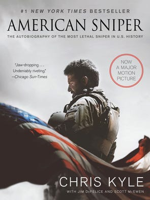 "Chris Kyle's book ""American Sniper"" is currently out"