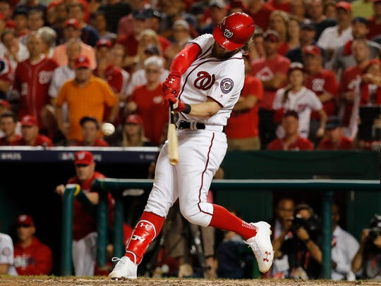 Bryce Harper already has a Rookie of the Year award, an MVP award and six All-Star selections in seven seasons.