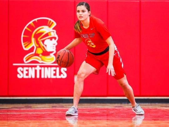 Chandler Seton Catholic High School basketball player
