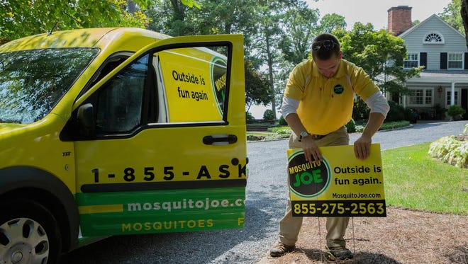Mosquito Joe is currently in 32 states. The company has plans to expand in those states and in two more in 2018.