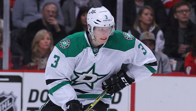 Defenseman John Klingberg is one of three Dallas Stars in the top five in the scoring race.