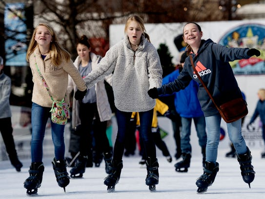 How are your ice skating skills? Head down to Holidays