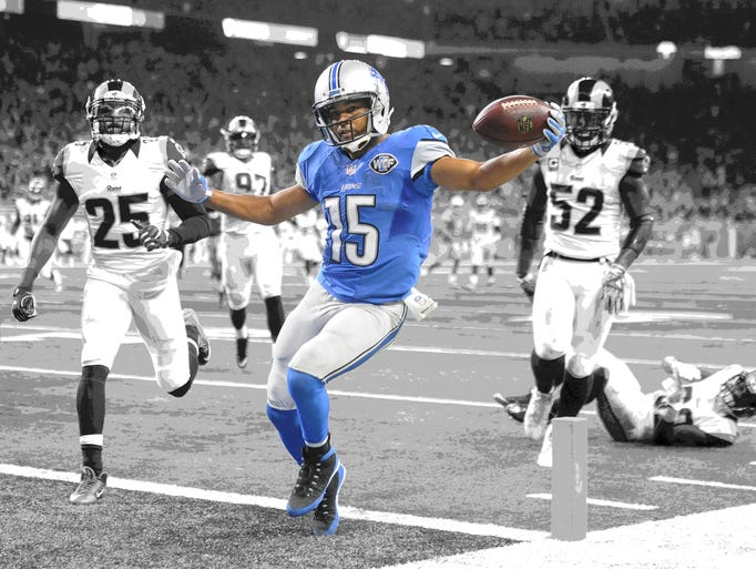 Go through the gallery to see the Detroit Lions' offensive