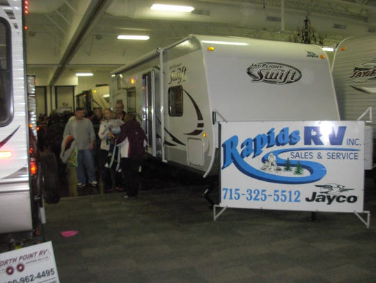 RVs and campers will be on display at the Central Wisconsin