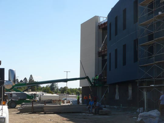 Construction at the Tulare County Office of Education