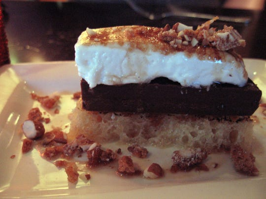Like everything on its menu, desserts at the Grove restaurant  near downtown Grand Rapids are creative and house made. Here, the kitchen puts a modern spin on classic S'mores.