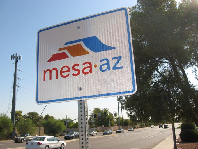 Mesa Mayor John Giles gave his State of the City address