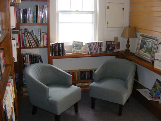 The Califon Book Shop offers a cozy space to sit down