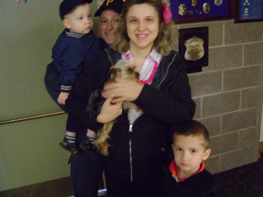 The owners of two stolen Yorkshire terriers were reunited