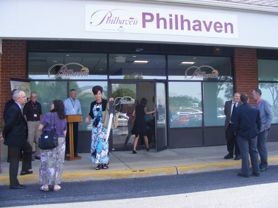 Philhaven held a ribbon cutting Friday, June 10, 2016, at its new outpatient office at 964 Isabel Drive, North Cornwall Township.