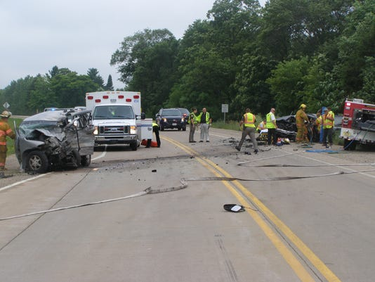 Victim of waushara co crash named for Department of motor vehicles stevens point wisconsin