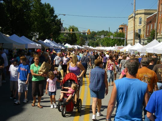 Typical attendance at the Corn Festival averages 30,000.