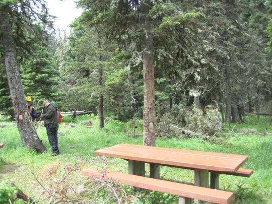 The Crystal lake Campground is not expected to reopen for the next two to three years.