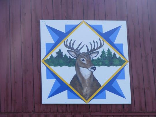 Buck Barn Quilt