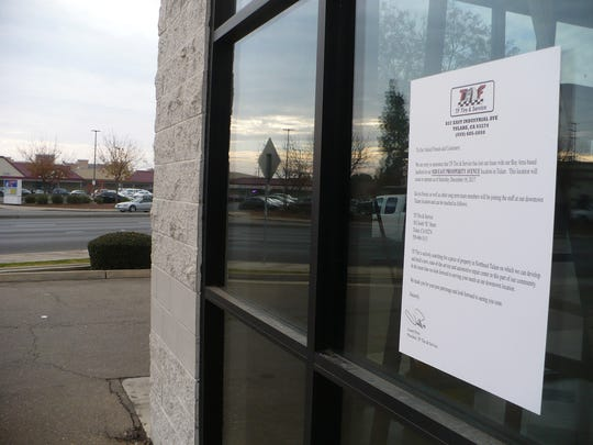 The TF Tire store on Prosperity closed on Saturday