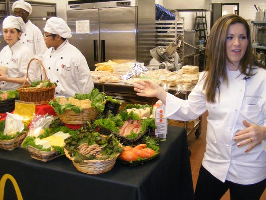 Culinary labs and demonstrations, like this one held five years ago at The Art Institute of Michigan, won't be available at the school when on-campus programming ends by the end of the year.
