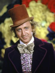 Paramount Pictures The late Gene Wilder as Willy Wonka.