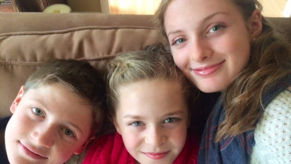 The Duserick siblings — Sawyer, Alden and Emilia —