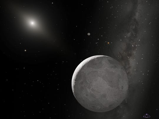 This is an artist's concept of Kuiper Belt object 2003