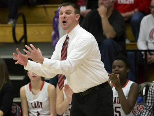 Reed Tyriver stepped down as the varsity girls basketball coach in late April. He will remain with the athletic program as an assistant athletic director and golf coach.