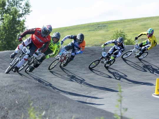 The BMX State Championship was held at the Winnebagoland BMX race track in Oshkosh last year.