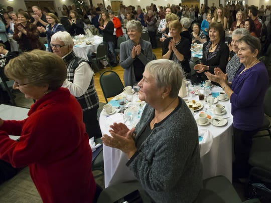 "The Oshkosh Area Women's Association hosted a sold-out 30th annual benefit style show, ""Celebrate the Season in Style"", at LaSure's Hall in November 2015."