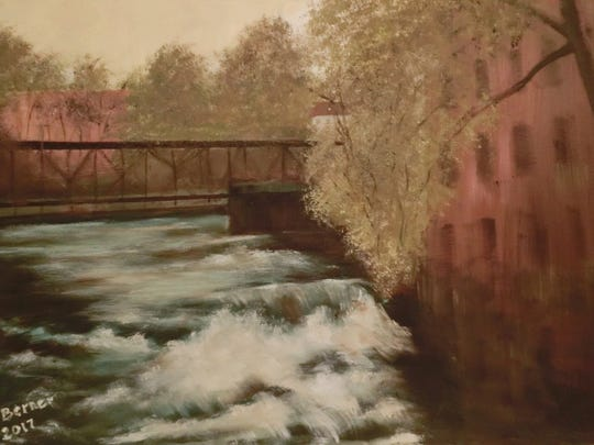 """Beacon Falls"" by Isabelle Berner is part of the group"