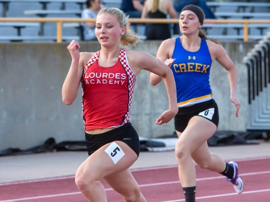 Lourdes Academy junior Alexis Rolph is the 2018 Oshkosh Northwestern Media All-Area Girls Track and Field Athlete of the Year.