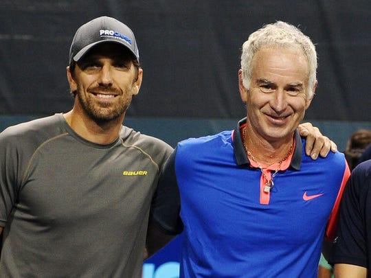 Henrik Lundqvist counts tennis legend John McEnroe