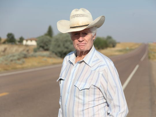 Bob Sivertsen is at odds with the state over making  Highway 2 four lane.