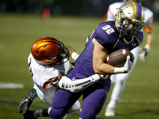 North Kitsap's Dax Solis rushed for 1,944 yards and 35 touchdowns in 11 games.