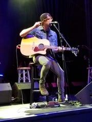"Emerging artist Michael Tyler, performs ""Somewhere"