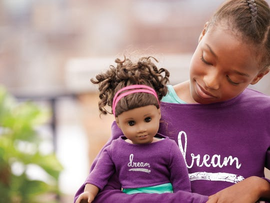 The Gabriela doll is American Girl's first African-American