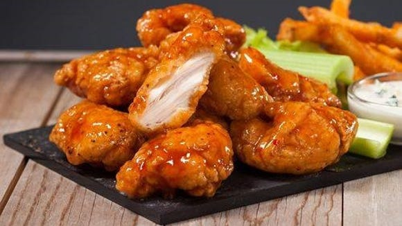 Hurricane is best known for its 35 flavors of jumbo wings. Flavors range from traditional buffalo and teriyaki to ancho chili lime and raspberry ice