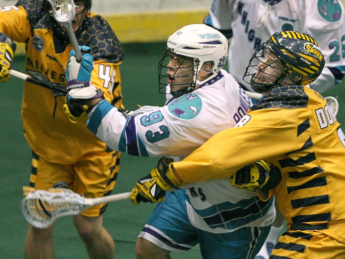 The Rochester Knighthawks defeated Minnesota 8-6 on Saturday.
