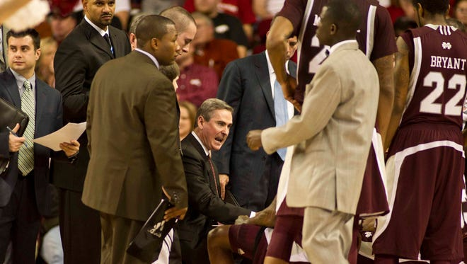 Mississippi State will honor its former coach Rick Stansbury prior to Wednesday night's game.