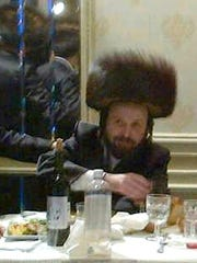 Undated photo shows Moshe (Moses) Stern at a family Simcha.