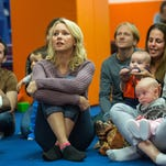 """Naomi Watts as the childless and restless Cornelia in """"While We're Young."""""""