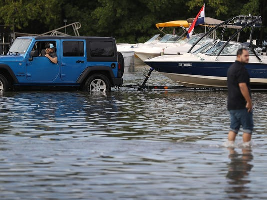 Rising seas spurred record number of 'high-tide' floods in U.S. last year